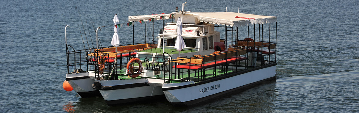 """Разходка с лодка на тримаран """"Чайка"""""""